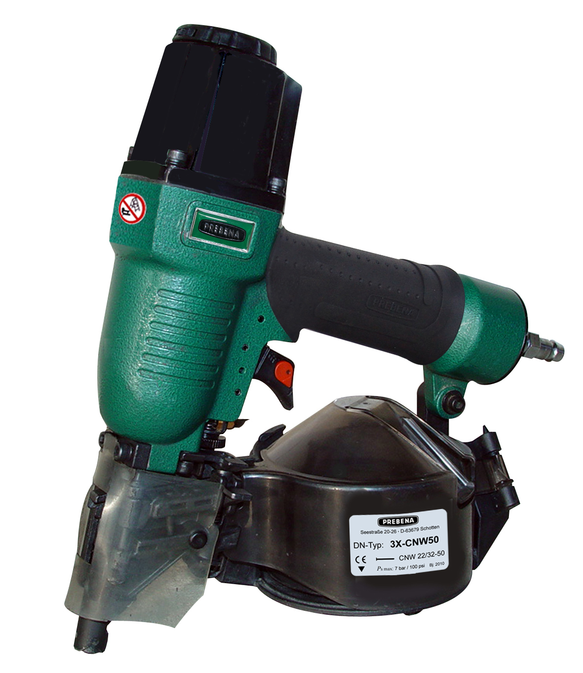 3X-CNW50 Druckluft-Coilnagler