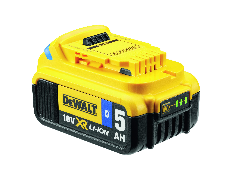 DCB184B 18,0 V / 5,0 Ah Schiebeakku mit Bluetooth