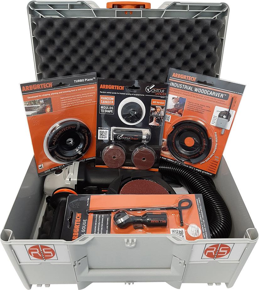 Systainer ARBORTECH Box 1 - Systainer-Koffer mit PowerCarerUnit und Schleifer